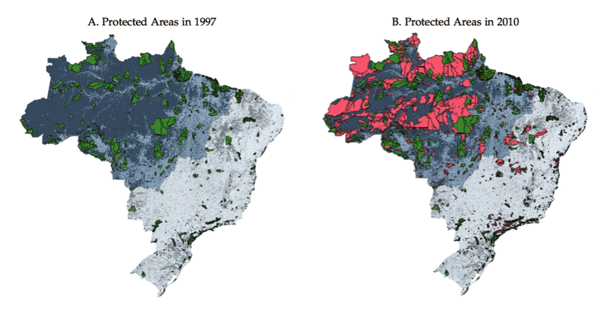 Land Conflict, Property Rights and Deforestation in Brasil